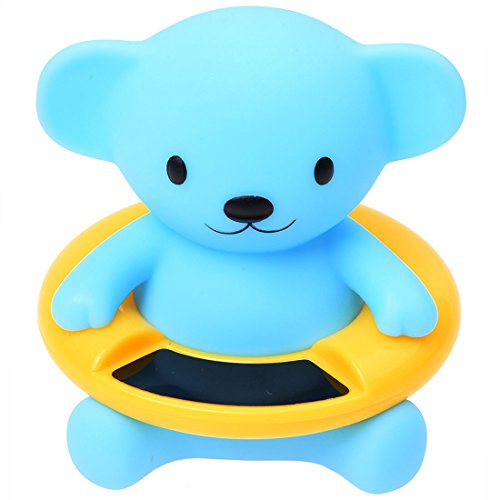 Cute Baby Bear Thermometer Infant Bath Tub Thermometer Water Temperature Tester Toy (Bear)