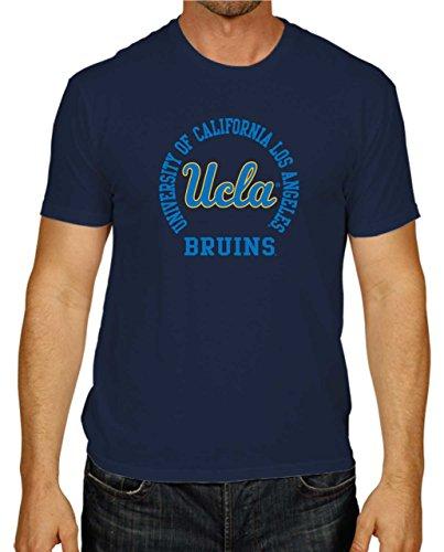 Campus Colors UCLA Bruins Adult NCAA Team Spirit T-Shirt - Navy, Small