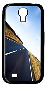 Long Road Ahead Custom Samsung Galaxy I9500/Samsung Galaxy S4 Case Cover Polycarbonate Black