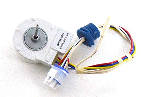 AZAP WR60X10074 Evaporator Fan Motor with Thermistor fits General Electric Hotpoint (Hotpoint Thermistor)