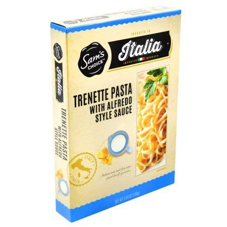 Sam's Choice Italia Trenette Pasta with Alfredo Style Sauce 5 oz