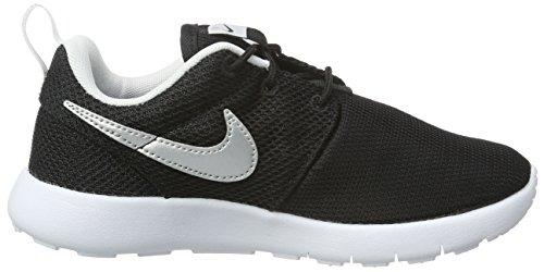 black metallic nero Nike white Gar Roshe Silver Noir ps On white white Baskets metallic One Silver white black qwF0wO