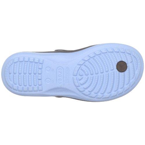 crocs - Sandalias unisex Marrón (Braun (Espresso/Light Blue))