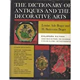 Dictionary of Antiques and the Decorative Arts, Boger, Louise A. and Boger, H. Batterson, 0684100304