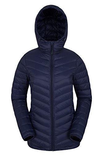 Mountain Warehouse Featherweight Womens Jacket - Winter/Summer Coat Navy - Womens Warehouse