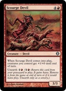Magic: the Gathering - Scourge Devil - Shards of Alara