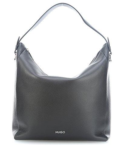 Hugo Mayfair Hobo - Borse a secchiello Donna, Nero (Black), 15x34x30 cm (B x H T)