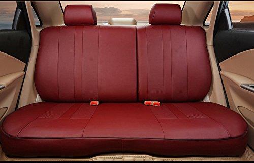 Car seat covers fit Suzuki Grand Vitara black//red  leatherette full set