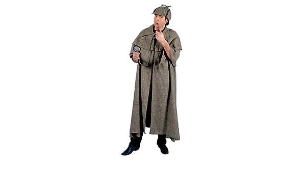 Bristol Novelty AC096 Sherlock Holmes (52/54) (disfraz): Amazon.es ...