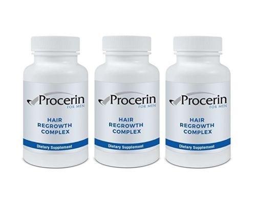 Procerin For Men 90 Tablets Hair Re-Growth Supplement- 3 Bottles
