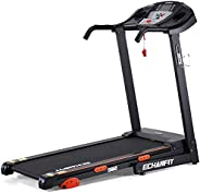 ECHANFIT Treadmills for Home 2.5 HP Power, Folding Incline Treadmills for Running with 15 Preset Programs, 202