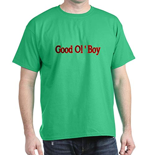 CafePress Good OL BOY 2 T Shirt 100% Cotton T-Shirt Kelly Green