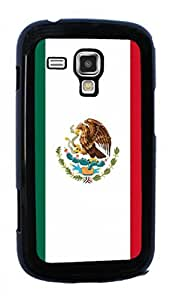 Mexican FLAG Hard Case for Samsung Galaxy S Duos S7562 ( Sugar Skull ) by mcsharks