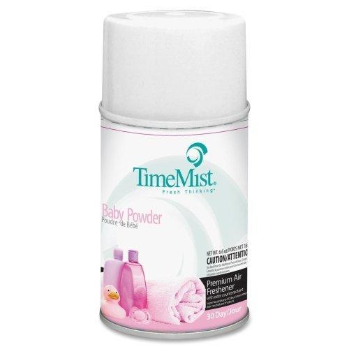 Wholesale CASE of 25 - Waterbury TimeMist Baby Powder Dispenser Refill-Air Fragrance Refill, F/ 9000 Cubic Feet, Baby Powder by WTB