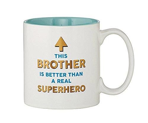 Set of 2, Tea-Coffee Cup/Mug, Superhero Brother Mug