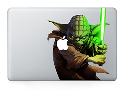 The Force Awakens Star Wars Master Yoda Apple Macbook Pro Air 13 13.3 Vinyl ()