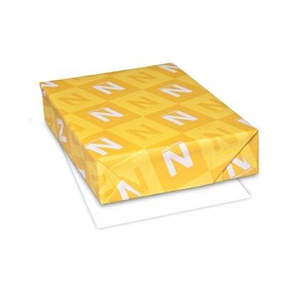 """Royal Sundance Paper, 8.5"""" x 11"""", 24 lb., Fiber Finish, White, 500 Sheets (93411)"""