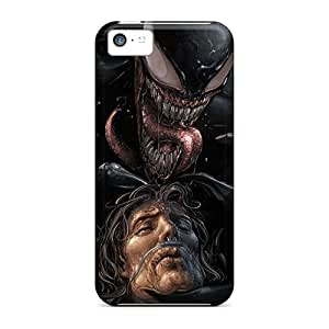 JoanneOickle Iphone 5c Scratch Resistant Hard Phone Covers Custom High Resolution Venom Pictures [SiD10994XDFP]