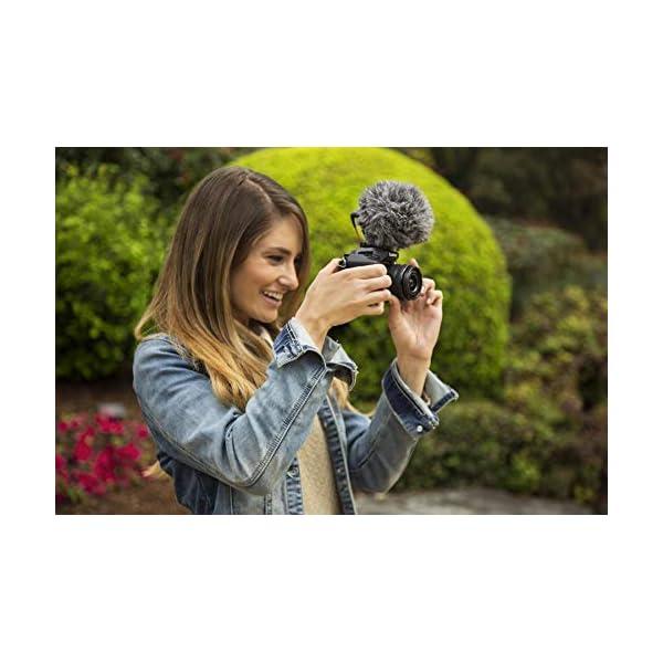 Rode VideoMicro - Microfono Direzionale Compatto per fotocamere DSLR, videocamere e registratori audio portatili, Jack 3,5 mm, Colori assortiti, 1 pezzo 5 spesavip