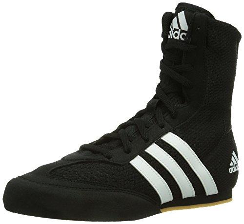 Adidas - Box Hog Boxschuhe - Schwarz, Netzmaterial, 47