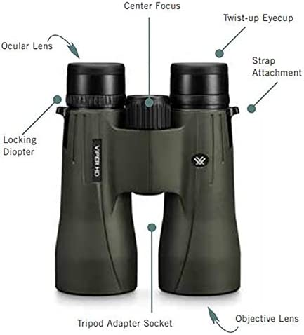 Vortex Optics Viper HD Roof Prism Binoculars 8x42