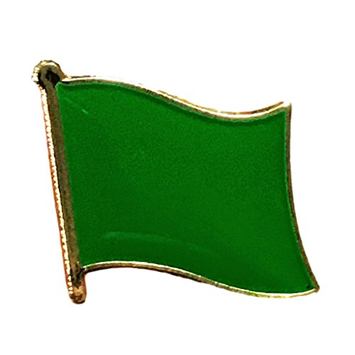 "Backwoods Barnaby Libya Flag Lapel Pin/International Travel Pins Collections by (0.75"" x 0.75"")"