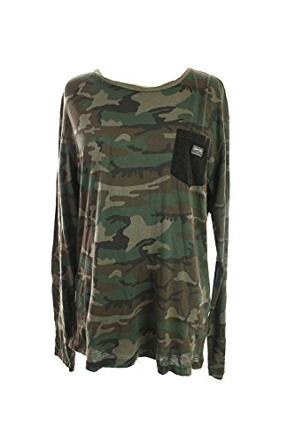 UPC 888000998240, Denim & Supply Ralph Lauren Camo Jersey T-shirt Old Woodland Camo Large