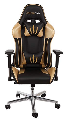 Tremendous Goldenclaw Ultra Racing Bucket Seat Office Chair Gaming Chair Ergonomic Computer Chair Esports Desk Chair Executive Chair Velour Pillows Machost Co Dining Chair Design Ideas Machostcouk