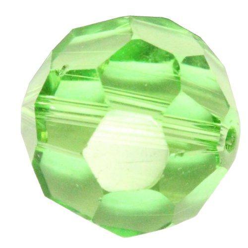 24 10mm Adabele Austrian Round Crystal Beads Peridot Alternative For Swarovski Preciosa Crystalized Beads 5000 #SS2R-1016