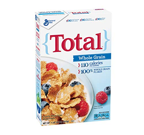 Total Whole Grain Cereal - PACK OF 10 - Total Cereal Whole Grain 16 oz Box