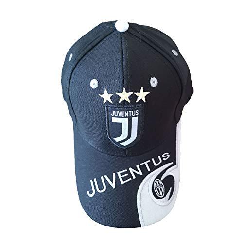 Juventus(Juve) Black Baseball Cap Soccer Cap New Embroidered Authentic Adjustable Baseball Cap -
