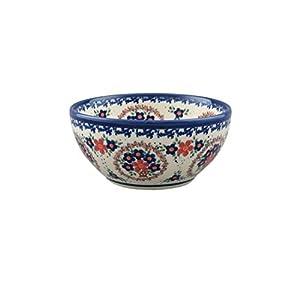 Boleslawiec Style Pottery Hand Painted Polish Ceramic Venus Bowl (16) 072-A-063