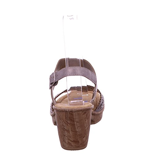 Smart en Grey Charlie Casual Sandales Mode Rieker Gris S6x7qCwBnw