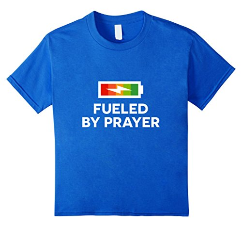 Fueled-By-Prayer-Christian-Gift-Faith-T-Shirt