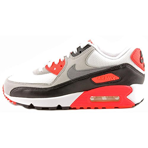 Nike Kvinnor Air Max 90 Og Fabric Gymnastikskor Vit