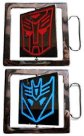 Transformers Autobots Belt Buckle (TRANSFORMERS AUTOBOT DECEPTICON DOUBLE SIDED BELT BUCKLE (Brand)