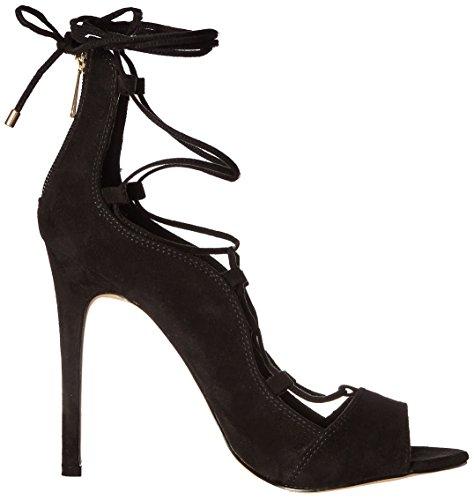 Noem Het Lente Dames Dilawet Gladiator-geïnspireerd Sandaal Zwart