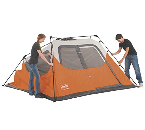Coleman 6 Person Instant Tent : Coleman waterproof feet person instant tent