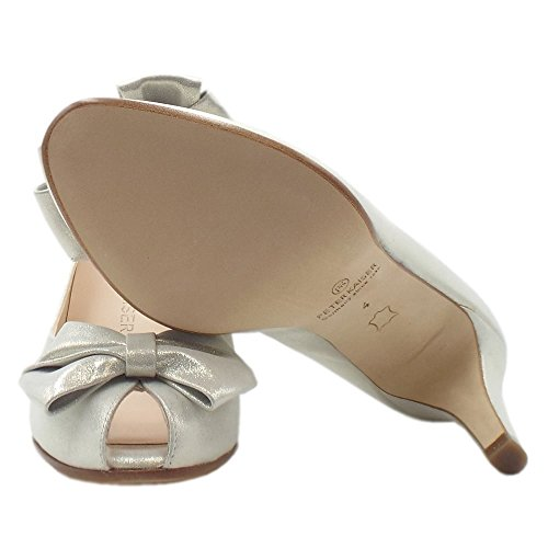 De Zapatos White Blanca Pie En Kaiser Señoras Del Las Star Estrella Dedo Peter Pío Stila BqR1wxn
