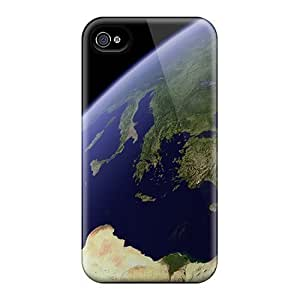 Awesome Earth Flip Case With Fashion Design For Iphone 5s