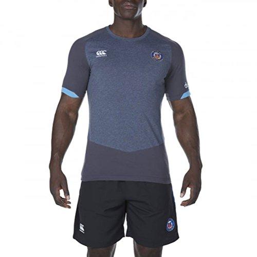 fan products of Bath Rugby Vapodri Cotton Training Tee 17/18 - Nine Iron Marl