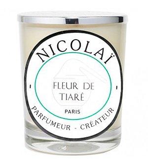 Fleur de Tiare by Parfums De Nicolai Candle 6 oz
