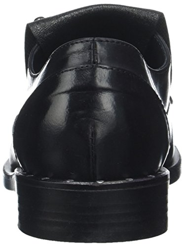 noir Veruska Piu 001 Noir Derbys Donna Femme cfXxaWfn