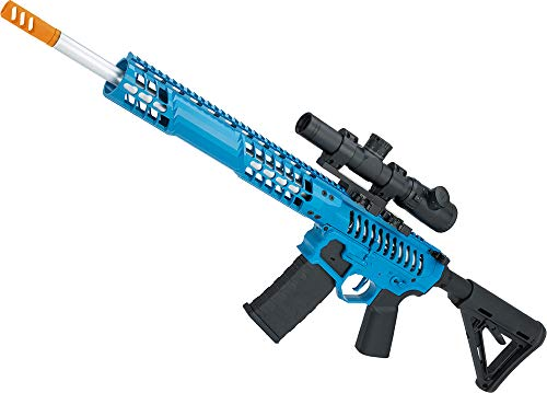 Evike EMG F1 Firearms BDR-15 3G AR15 Full Metal Airsoft AEG Rifle (Color: Blue Selector/Magpul MOE Stock)