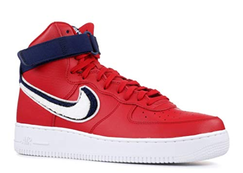 Nike Air Force 1 High 3D Chenille Swoosh Red White Blue Style: 806403-603 Size: 11.5
