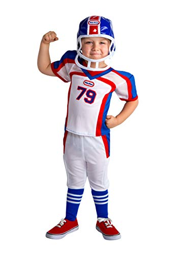 Little Tikes Football Player Kid's Costume 3T/4T -