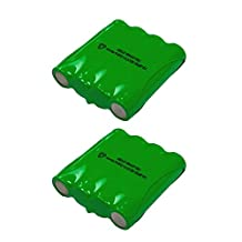 2 Pack of Cobra FRS310 Battery - Replacement for Cobra Two-Way Radio Battery (800mAh, 4.8V, NI-MH)