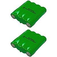 2 Pack Cobra Two Way Radio Battery FA-BP - Compatible with Cobra PR240, PR1100, MT500, MT525, MT700, MT725, MT900, PR590, PR950, PR900, PR3175, PR3000, PR3100, FRS300, FRS235, FRS220, FRS130, FRS110