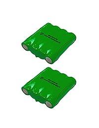 Batería de radio bidireccional Cobra de 2 paquetes FA-BP - Compatible con Cobra PR240, PR1100, MT500, MT525, MT700, MT725, MT900, PR590, PR950, PR900, PR3175, PR3000, PR3100, FRS235, FRS220, FRS130, FRS110