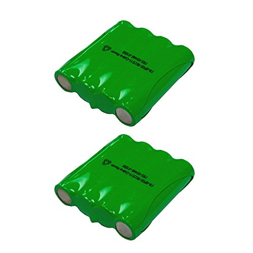 Nicd Radio Battery - 2 Pack Cobra Two Way Radio Battery FA-BP - Compatible with Cobra PR240, PR1100, MT500, MT525, MT700, MT725, MT900, PR590, PR950, PR900, PR3175, PR3000, PR3100, FRS300, FRS235, FRS220, FRS130, FRS110